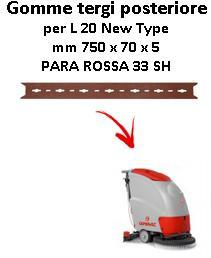 L 20 NEW TYPE Back Squeegee rubber Comac