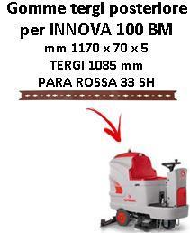 INNOVA 100 BM Back Squeegee rubber Comac