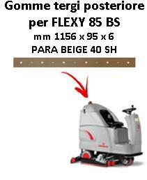 FLEXY 85 BS Back Squeegee rubber Comac