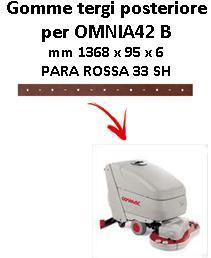 OMNIA 42 B Back Squeegee rubber Comac