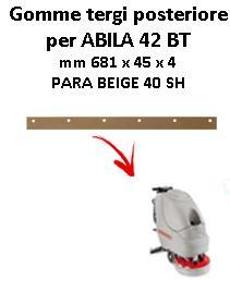 ABILA 42 BT Back Squeegee rubber Comac