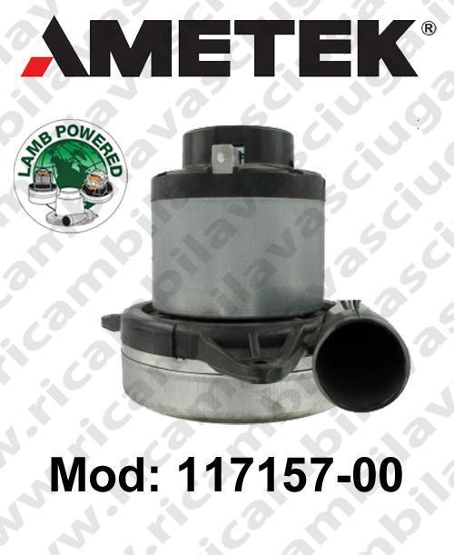 Vacuum motor 117157-00 LAMB AMETEK for sistemi centralizzati