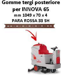 INNOVA 65 B Back Squeegee rubber Comac