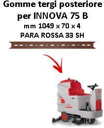 INNOVA 75 B Back Squeegee rubber Comac