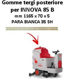 INNOVA 85 B  Back Squeegee rubber Comac
