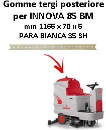 INNOVA 85 BM  Back Squeegee rubber Comac