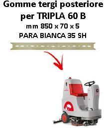 TRIPLA 60 B  Back Squeegee rubber Comac