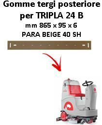 TRIPLA 24 B  Back Squeegee rubber Comac