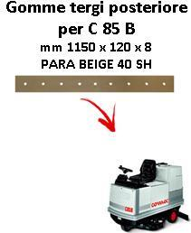 C 85 B  Back Squeegee rubber Comac