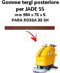 JADE 55 Back Squeegee rubber Adiatek