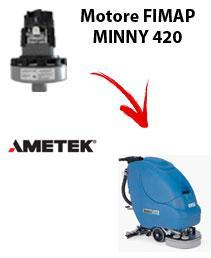 MINNY 420   Vacuum motors AMETEK for scrubber dryer Fimap
