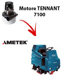 7100 Vacuum motors AMETEK for scrubber dryer TENNANT