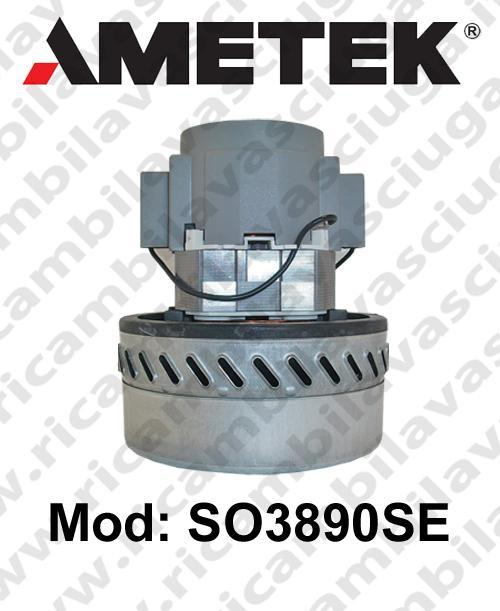 Vacuum motor SO3890SE AMETEK for scrubber dryer and vacuum cleaner