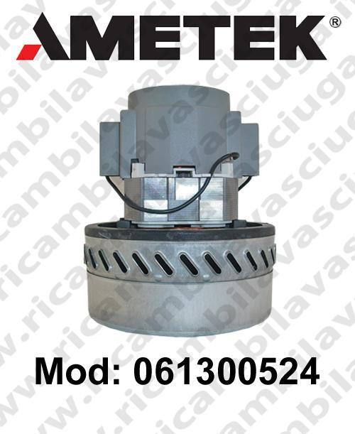 Vacuum motor 061300524 AMETEK for scrubber dryer and vacuum cleaner