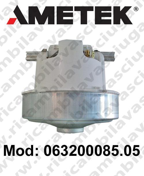 Vacuum motor 063200085.05 AMETEK for vacuum cleaner