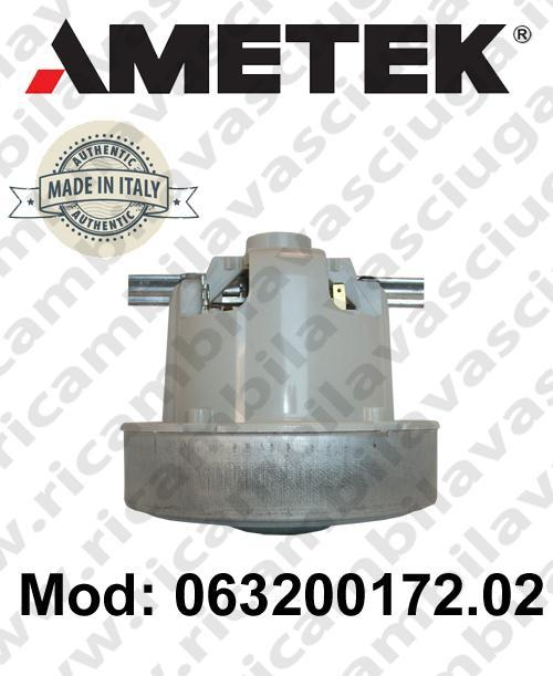 Vacuum motor 063200172.02 AMETEK ITALIA for vacuum cleaner