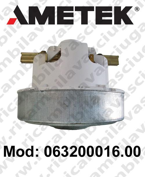 Vacuum motor 063200016.00 AMETEK for vacuum cleaner