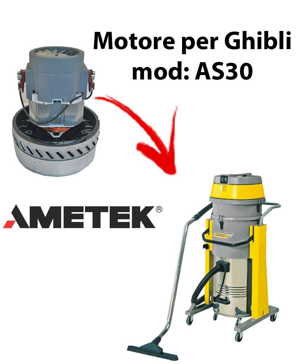 AS30  Vacuum motor Amatek for wet and dry vacuum cleaner GHIBLI