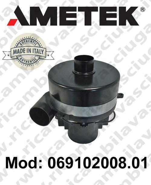 Vacuum motor 069102008.01 AMETEK ITALIA for scrubber dryer