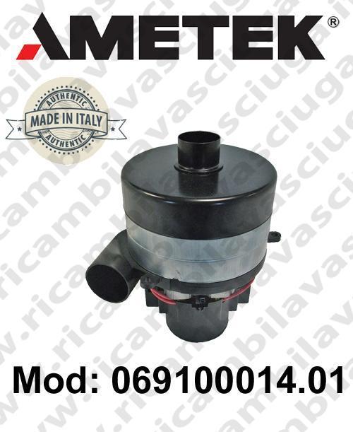 Vacuum motor 069100014.01 AMETEK ITALIA for scrubber dryer