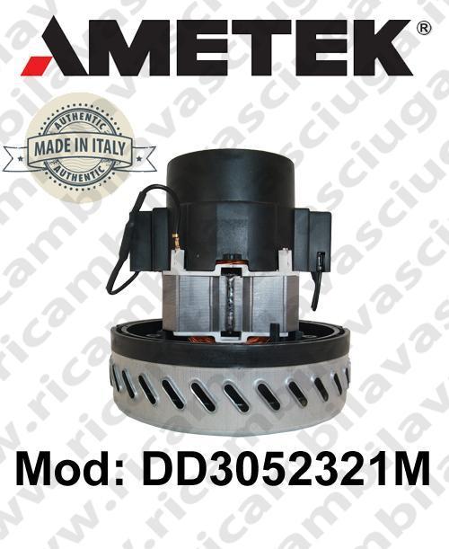 Ametek Vacuum Motor Italia DD3052321M for scrubber dryer and vacuum cleaner