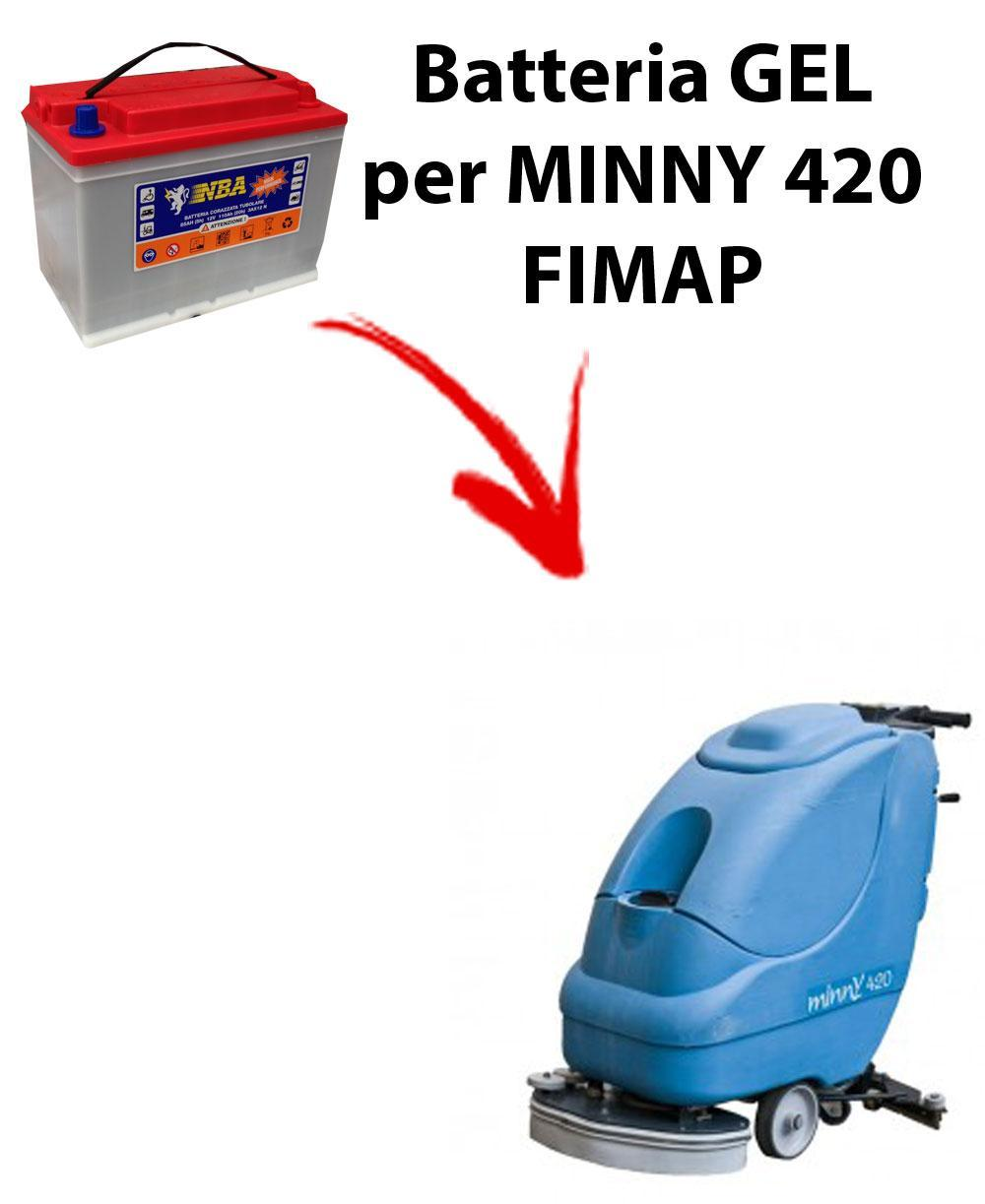 Battery PIOMBO for MINNY 420 scrubber dryer FIMAP