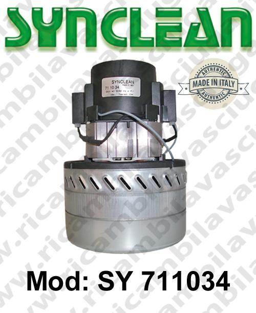 Vacuum motor SY  711034 SYNCLEAN for scrubber dryer and vacuum cleaner