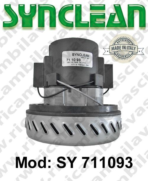 Vacuum motor SY  711093 SYNCLEAN for scrubber dryer and vacuum cleaner
