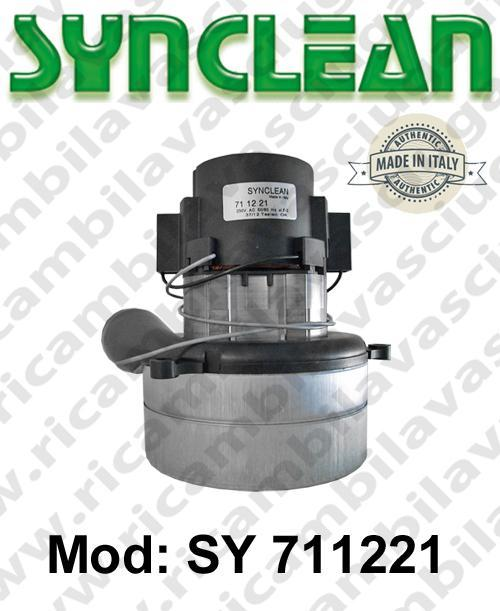 Vacuum motor SY  711221 SYNCLEAN for scrubber dryer and vacuum cleaner