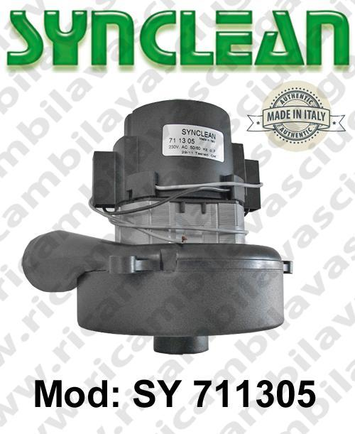 Vacuum motor SY  711305 SYNCLEAN for scrubber dryer and vacuum cleaner