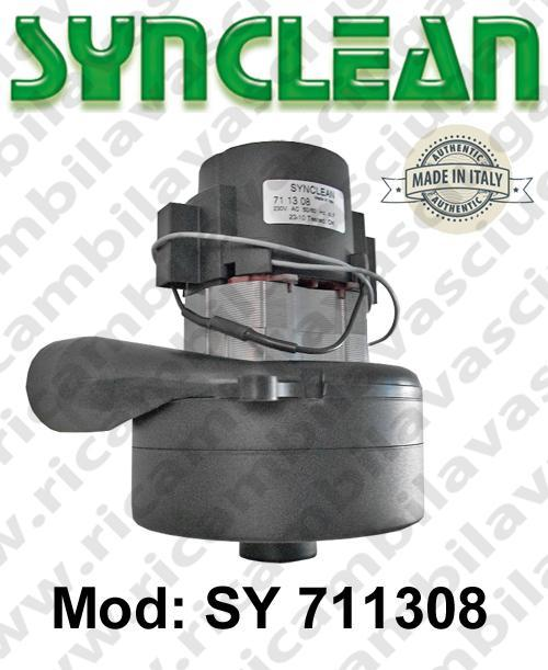 Vacuum motor SY  711308 SYNCLEAN for scrubber dryer and vacuum cleaner