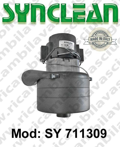 Vacuum motor SY  711309 SYNCLEAN for scrubber dryer and vacuum cleaner