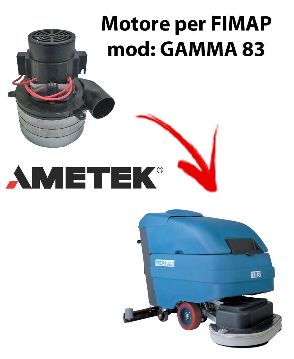 GAMMA 83 Vacuum motors AMETEK Italia for scrubber dryer FIMAP