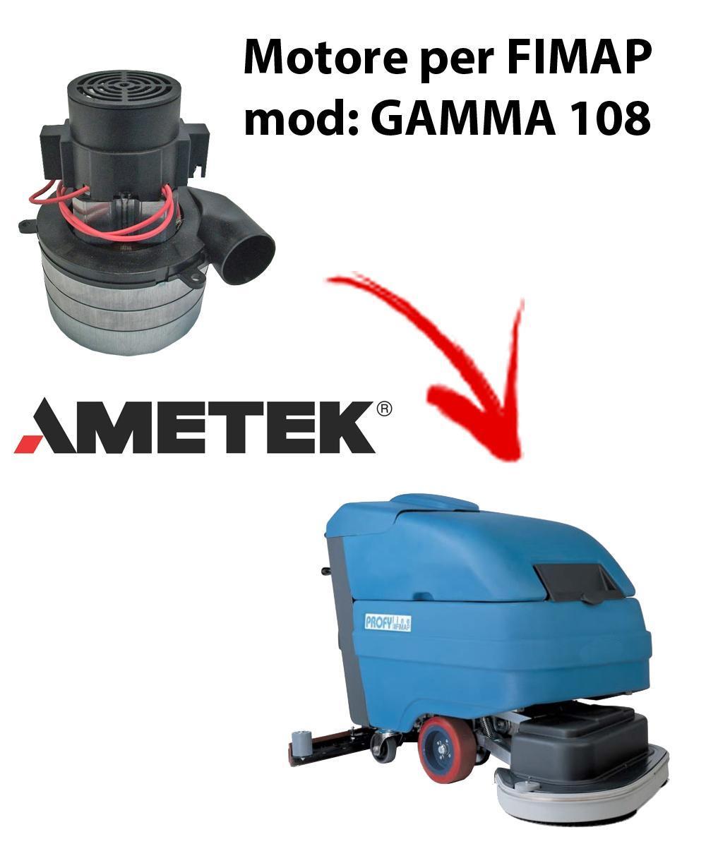 GAMMA 108 Vacuum motors AMETEK Italia for scrubber dryer FIMAP