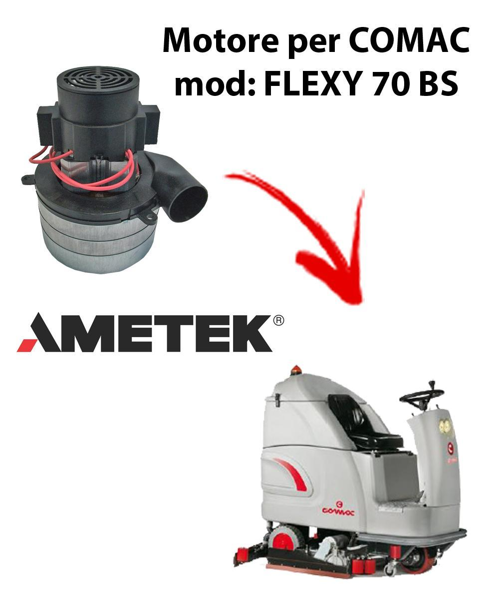 FLEXY 70 BS Vacuum motors AMETEK Italia for scrubber dryer Comac