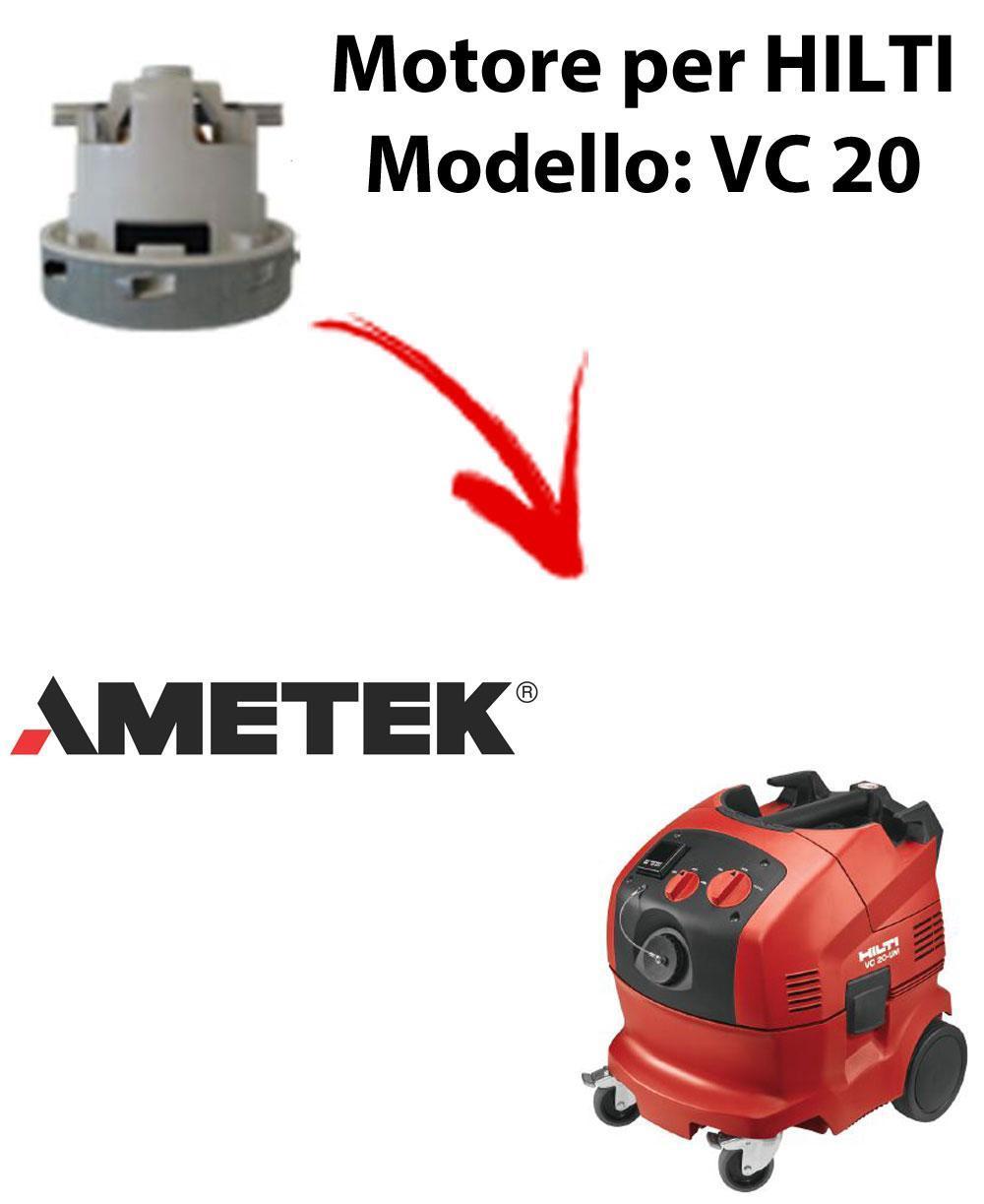 VC 20 automatic Ametek Vacuum Motor for vacuum cleaner HILTI
