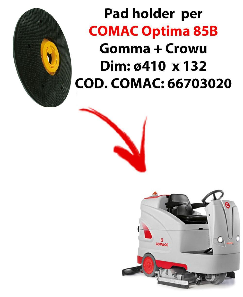 PAD HOLDER for scrubber dryer COMAC Optima 85B. Code comac: 66703020