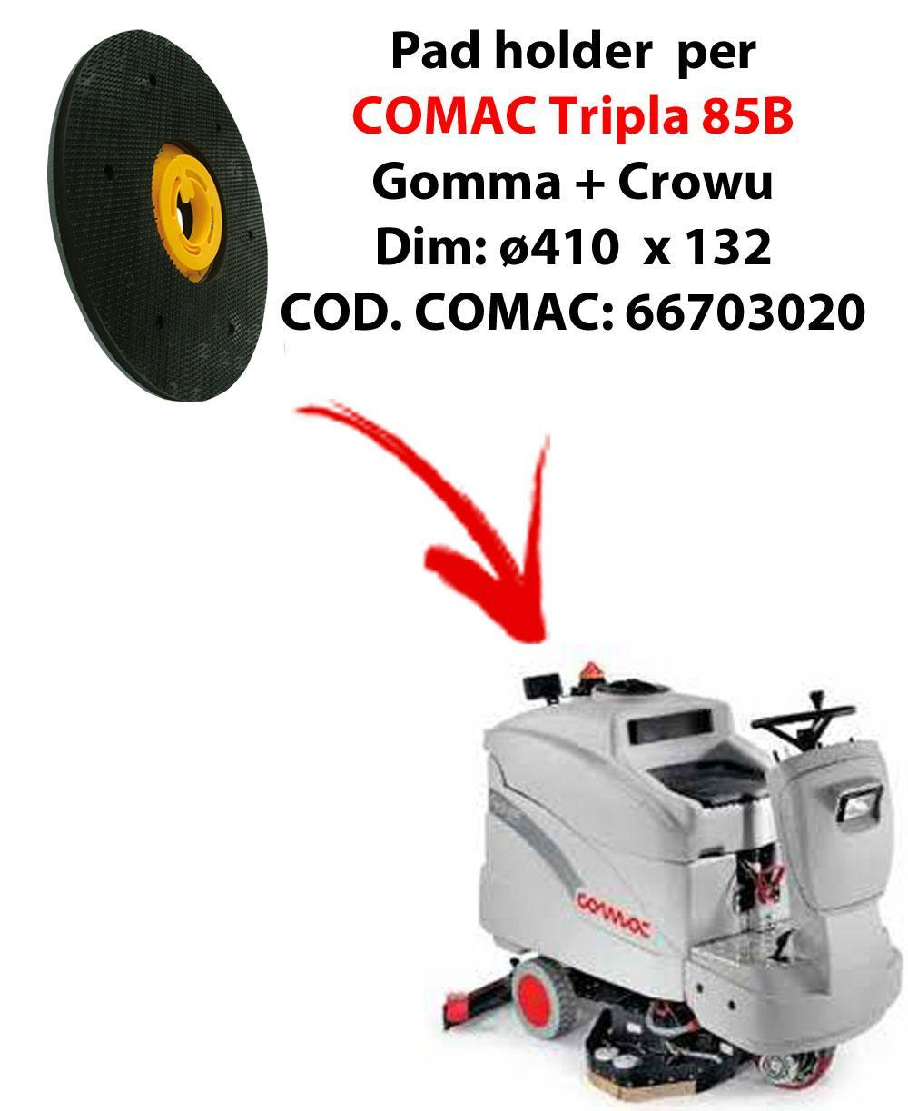 PAD HOLDER for scrubber dryer COMAC Tripla 85B. Code comac: 66703020