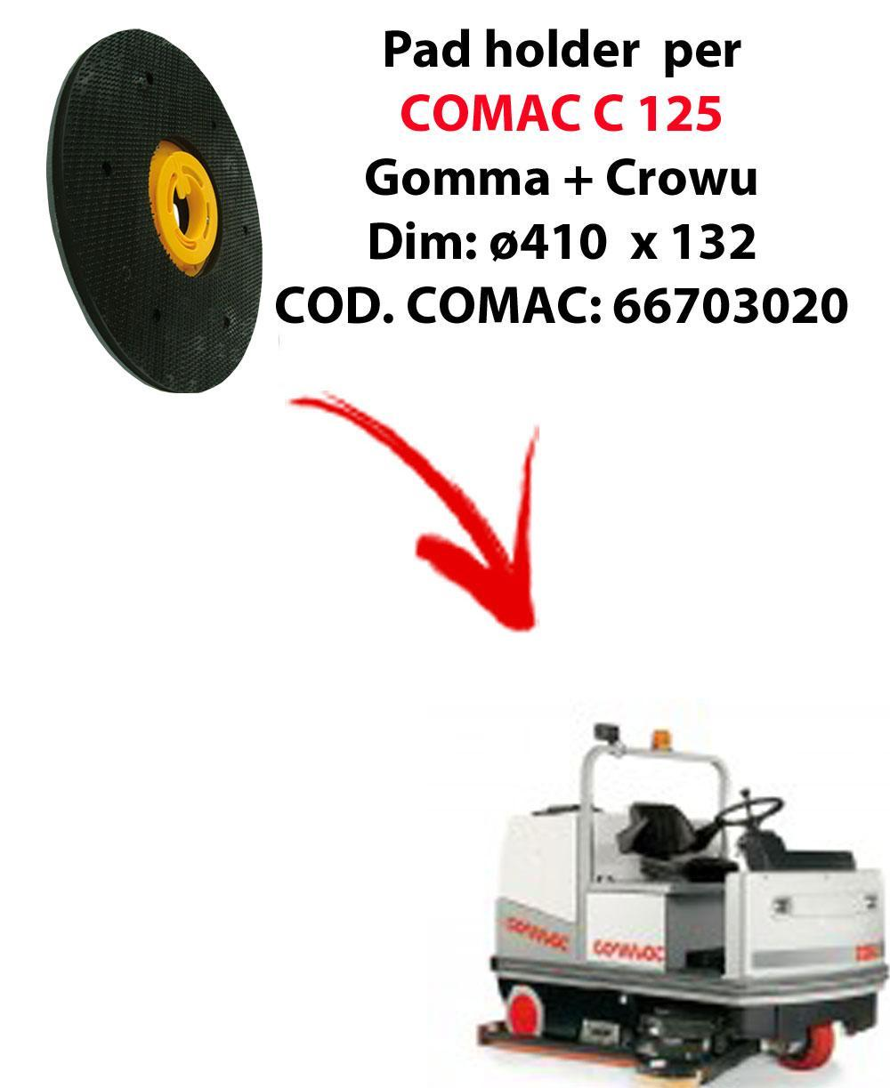 PAD HOLDER for scrubber dryer COMAC C 125. Code comac: 66703020