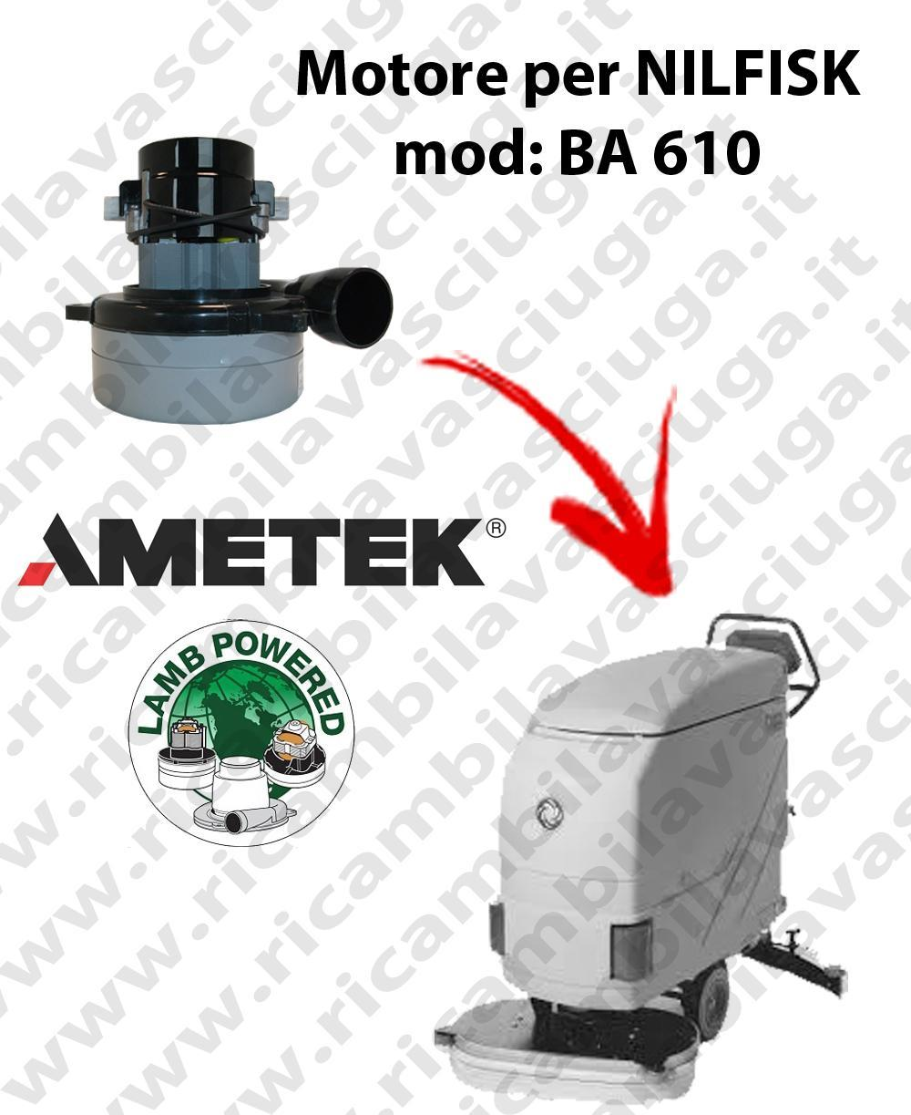 BA 610 Vacuum motor LAMB AMETEK for scrubber dryer NILFISK