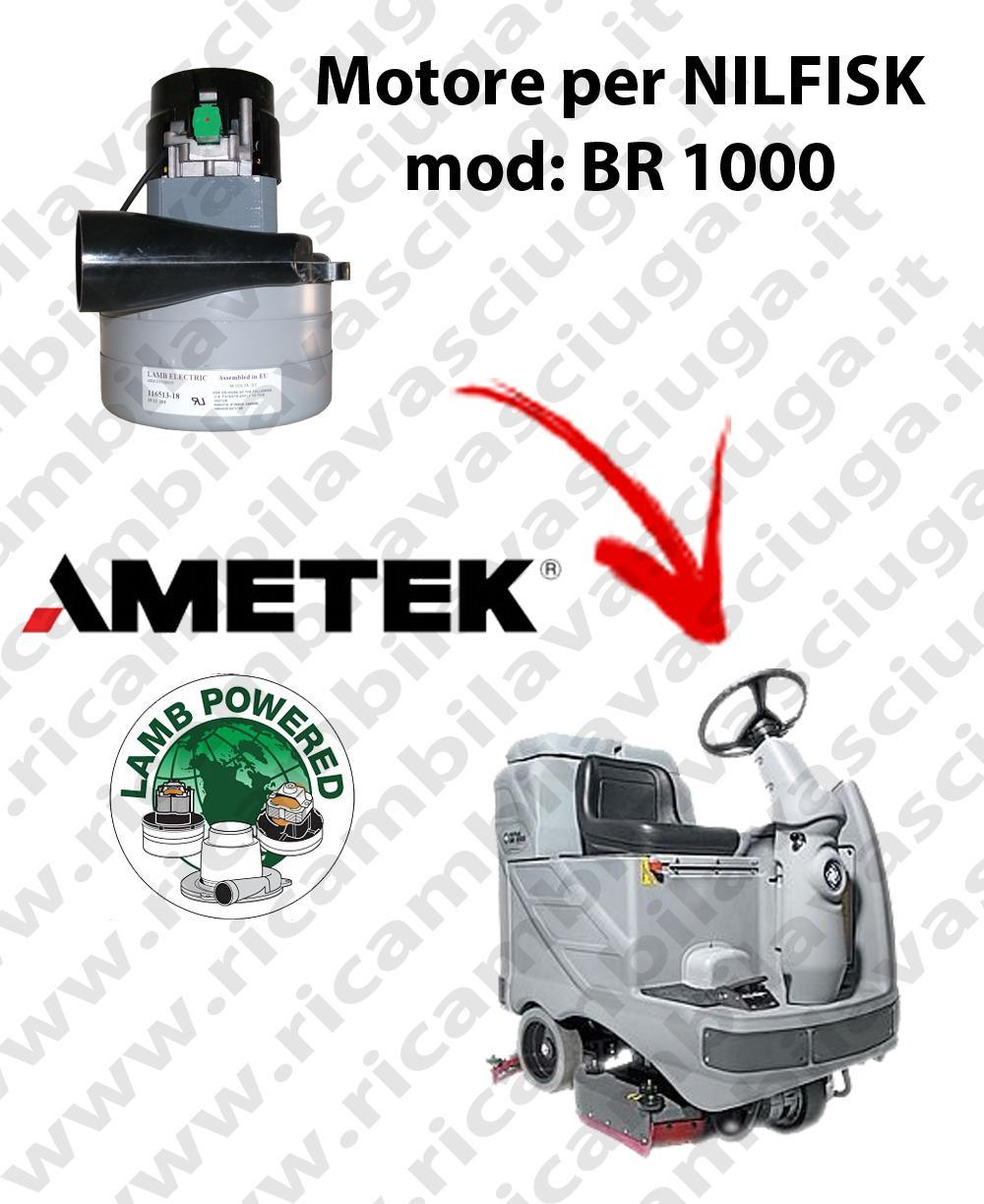 BR 1000 Vacuum motor LAMB AMETEK for scrubber dryer NILFISK