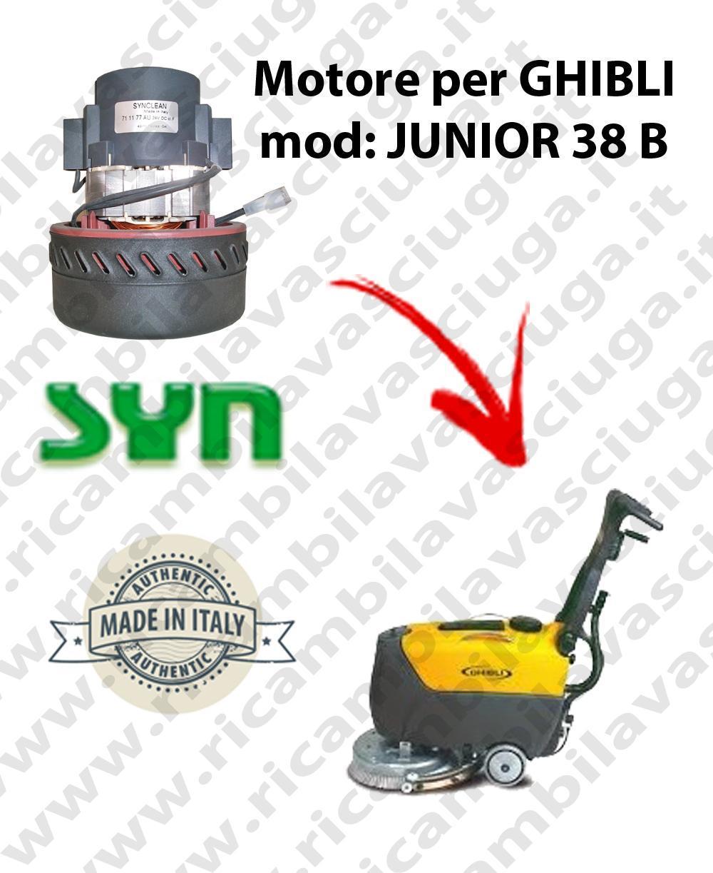 JUNIOR 38 B Vacuum motor SY NCLEAN for scrubber dryer GHIBLI