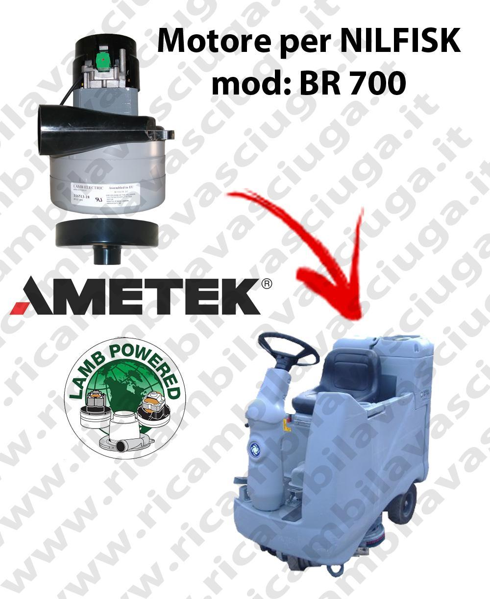 BR 700  Vacuum motor LAMB AMETEK for scrubber dryer NILFISK
