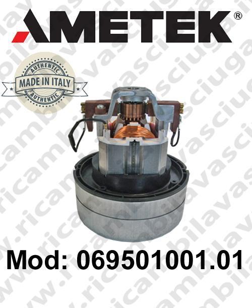 Vacuum motor 069501001.01 AMETEK ITALIA for vacuum cleaner