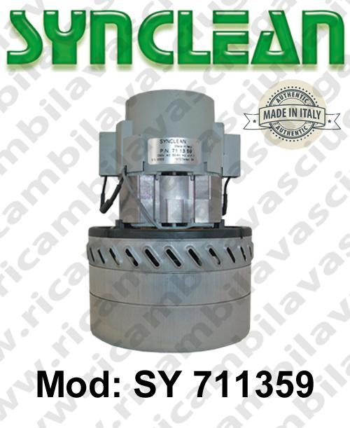 Vacuum motor SY  711359 SYNCLEAN for scrubber dryer and vacuum cleaner