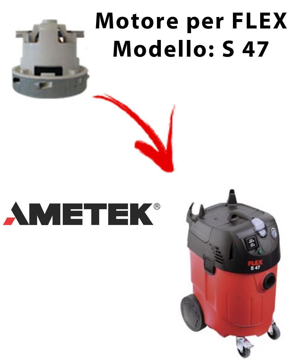FLEX S 47 automatic Ametek Vacuum Motor for vacuum cleaner FLEX