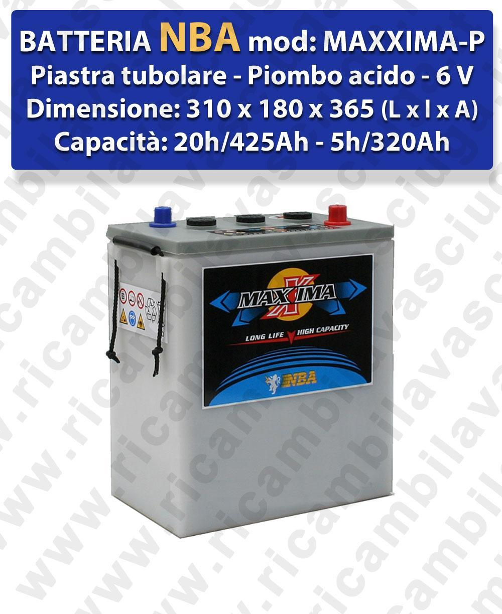 MAXXIMA-PLUS Battery piombo - NBA 6V 425Ah 20/h