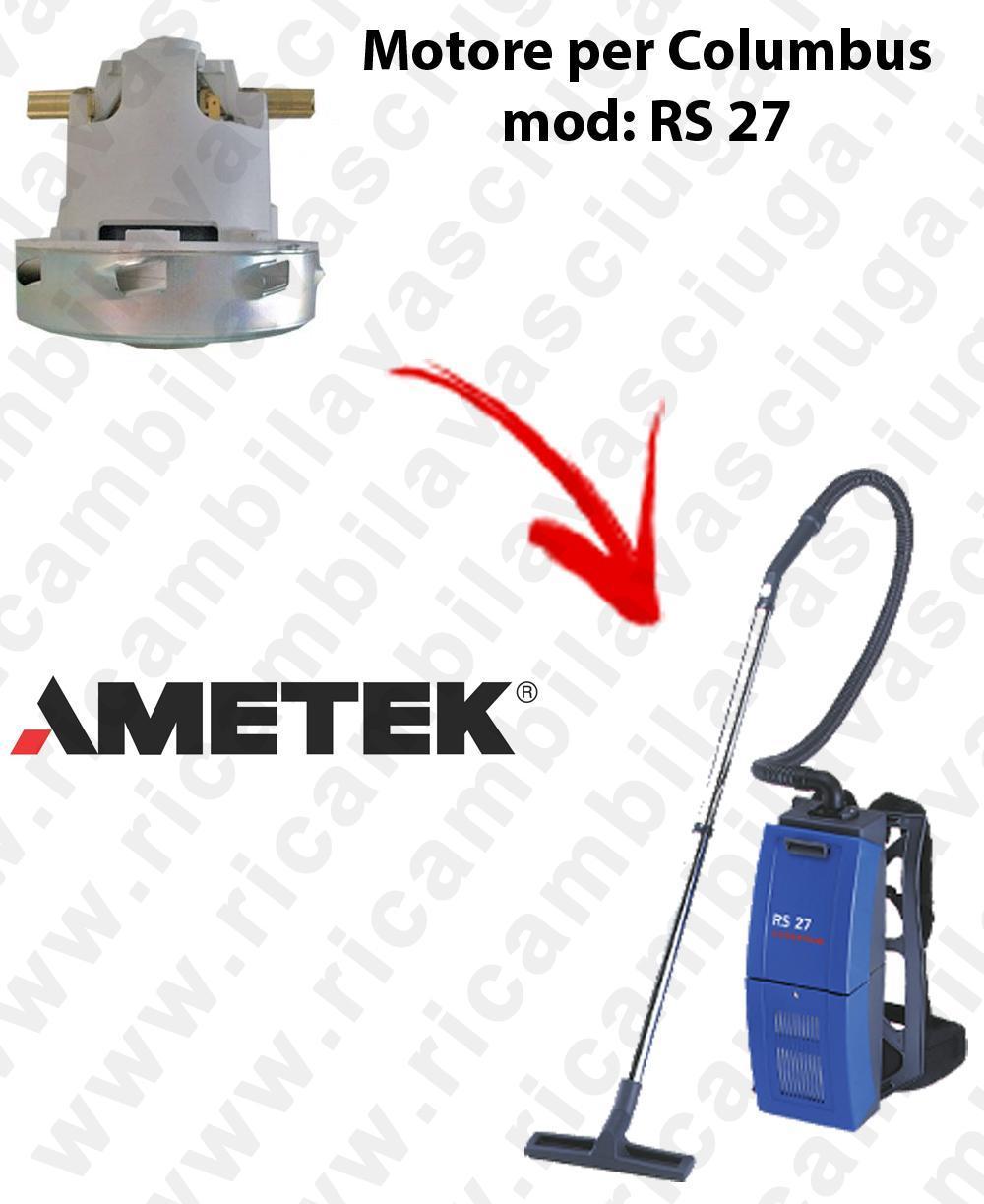 RS 27  Ametek Vacuum Motor for Vacuum cleaner Columbus