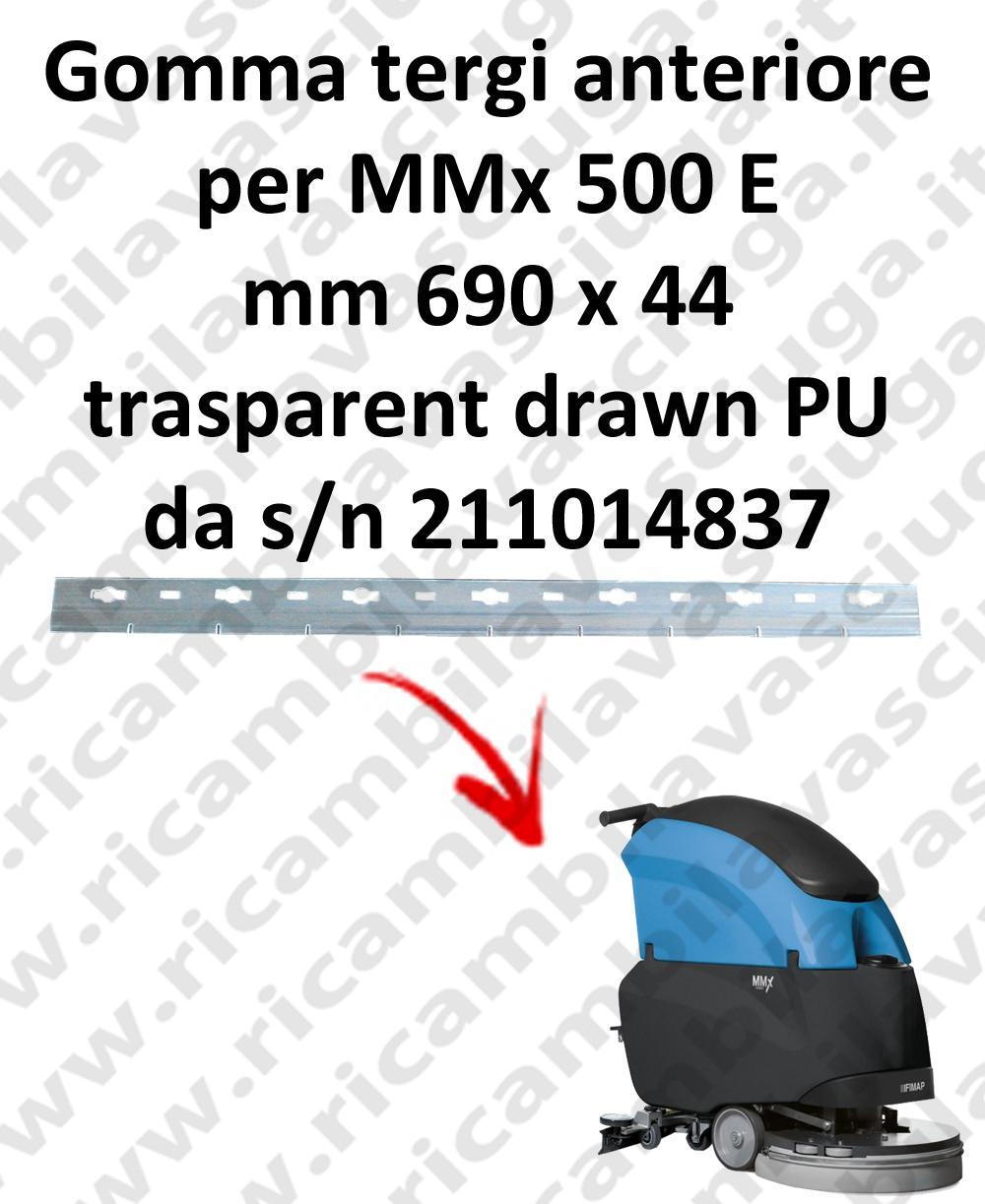MMx 500 E Front Squeegee rubber for FIMAP accessories, reaplacement, spare parts,o scrubber dryer squeegee