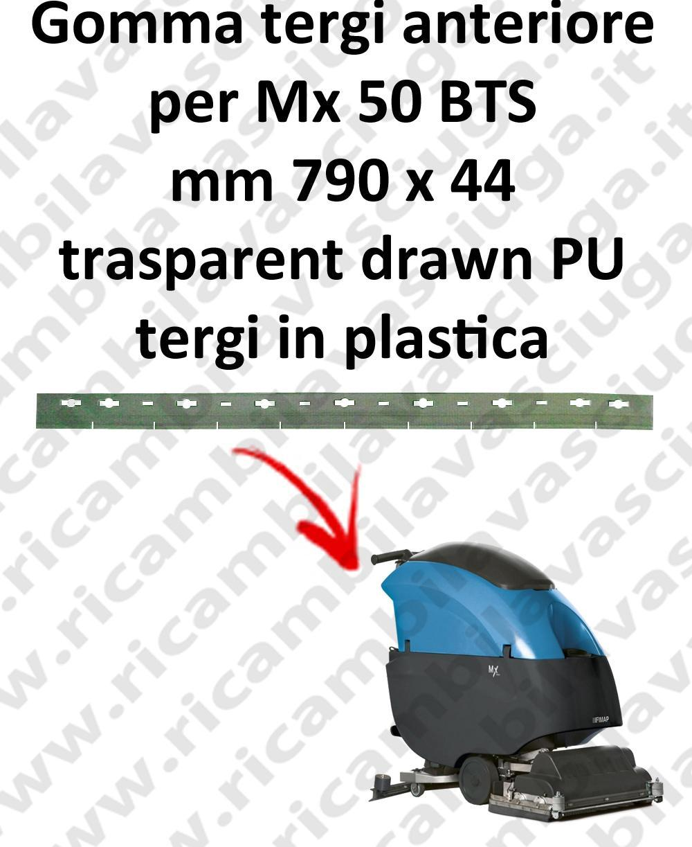 Mx 50 BTS Front Squeegee rubber for FIMAP accessories, reaplacement, spare parts,o scrubber dryer squeege